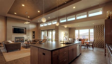 kitchen dining lighting ideas stunning kitchen designs to open family room with dining room combo using fireplaces and warm