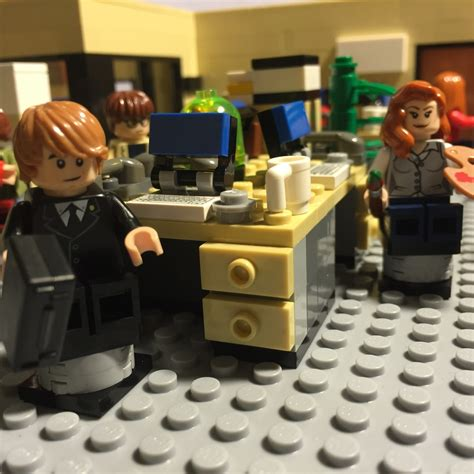 lego office lego ideas nbc s the office