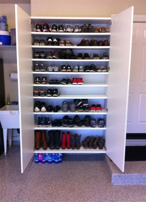 efficient shoe storage shoe storage on wall 53 living tv modern cabinets designs
