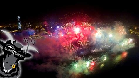 hong kong new year show drone of a spectacular 2015 new year s fireworks