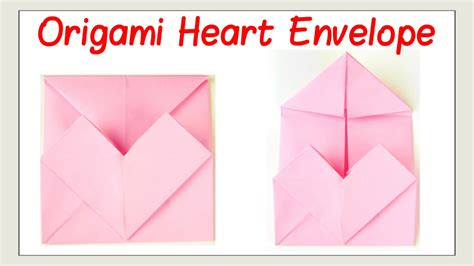 how to fold paper for envelope valentine s day crafts how to fold an origami heart