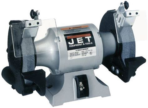 jet 8 bench grinder jet jbg 8a bench grinder 8 quot weapons blades and tool