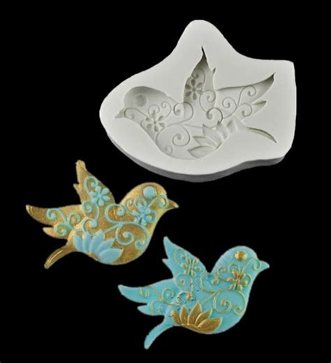 Fancy Mold bird fancy silicone mold christines molds