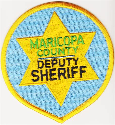 maricopa county deputy sheriff trade or sale volkers patch collection