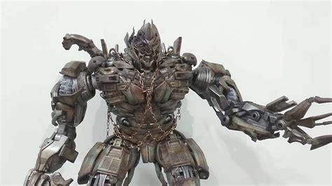 Transformer L by Threea 3a Transformers Dotm Megatron Unboxing Review