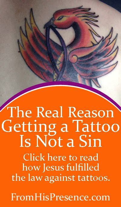 is getting a tattoo a sin why getting a is not a fromhispresence