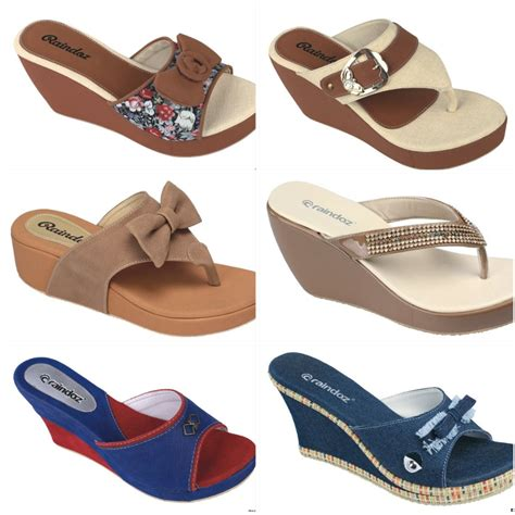 Wedges Velvet Sandal Sepatu Wanita Flat Shoes Boot Kets Heels sepatu wedges wanita wedges collection wedges