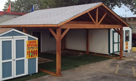 Carports With Storage Shed by Carports Sheds Wood Storage Shed Carport Wood Frame