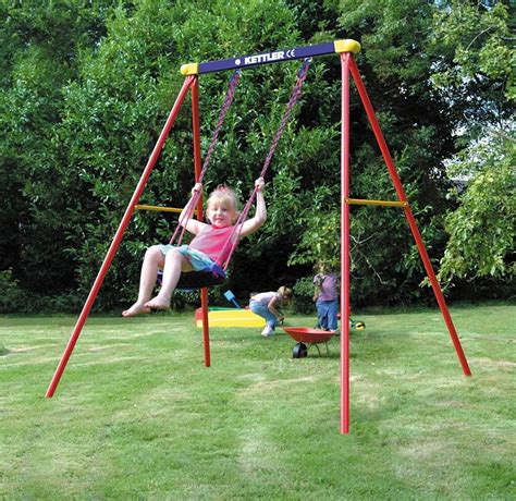 kids single swing 5 quick tips to make playing outside safer for your