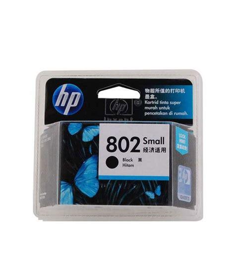 Catridge Hp802 Black hp 802 small inkjet cartridge black buy hp 802 small