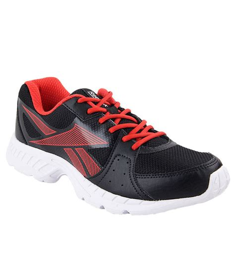 top sports shoes reebok top speed black running sports shoes buy reebok