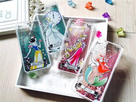 Iphone 5 5s Se Disney Princess In Girly Hybrid disney princess liquid glitter phone from your weekend