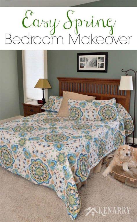 spring bedroom makeover spring bedding lush decor bedroom makeover results