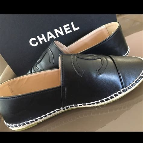 Brand New Chanel Espa Shoes 50 chanel shoes brand new chanel espadrilles size 7 not auth from s closet on