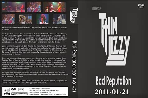 Thin Lizzy Eagle heavy rock thin lizzy bad reputation documentary complete