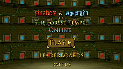 screenshots fireboy and watergirl