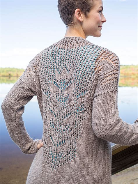 knitting pattern lace jumper mallow lace leaf cardigan free knitting pattern knitting bee