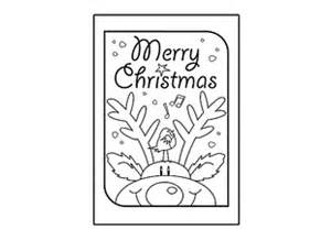 Christmas Card Templates For Children To Make Christmas Card Merry Christmas Ichild