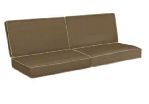 Sofa Cushions Flat by Custom Flat Wicker Sofa Cushions 2 Backs 2 Seats