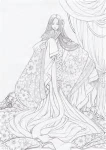 kimono pattern anime the magnificient kimono by lyanora on deviantart