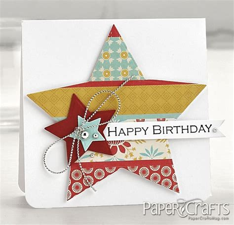 Happy Birthday Papercraft - happy birthday card cards