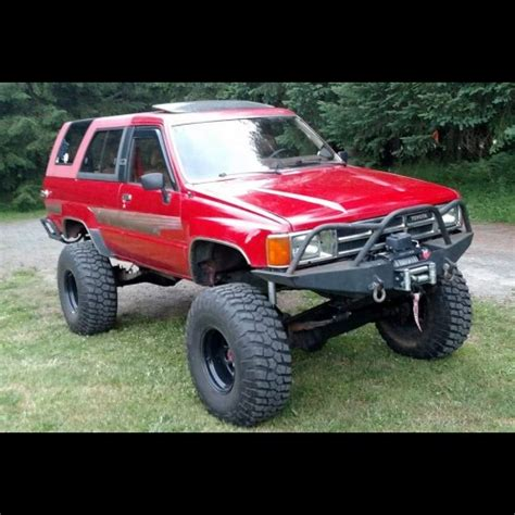 1985 toyota front bumper 1984 1988 toyota 4runner weld together winch