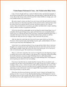victim impact statement template 9 sle victim impact statement invoice exle 2017