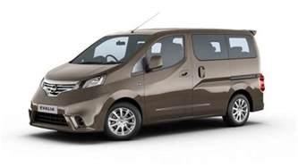 Nissan Evalia Nissan Evalia India Price Review Images Nissan Cars