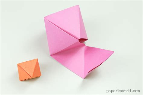 Origami Advanced - origami octahedron box decoration paper