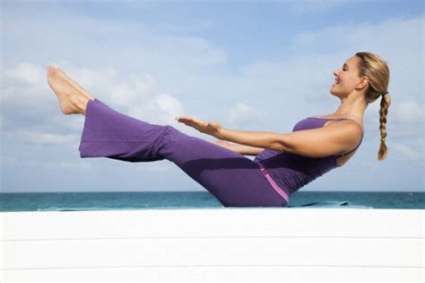 supported boat pose how to reduce tummy belly fat by yoga with pictures