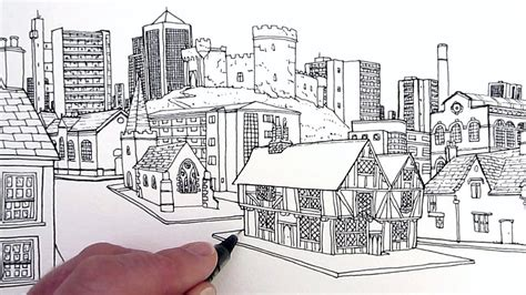 draw building how to draw buildings a through time