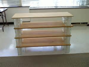 how to build glass and board shelves three great days
