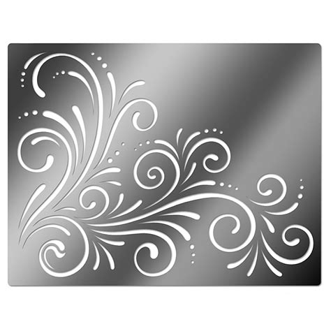 printable engraving templates printable flower stencil patterns embossing stencil
