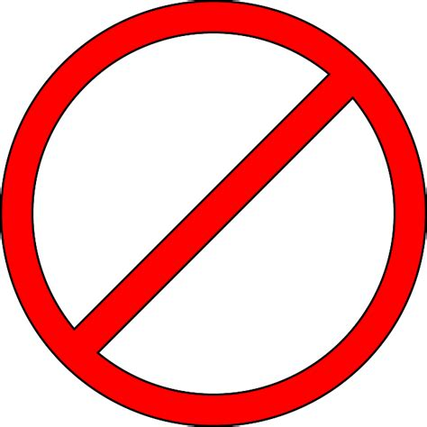 don t free vector graphic prohibited don t do not ban free