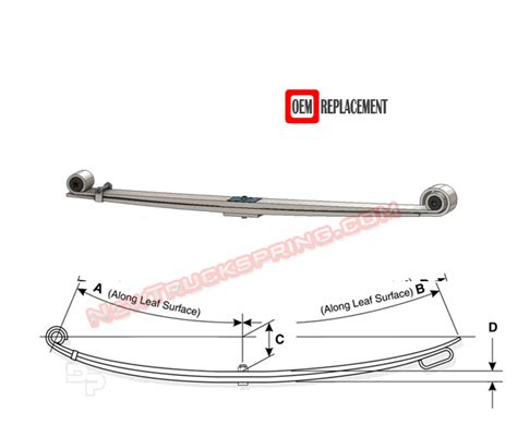 ford mercury car leaf springs oem heavy duty lifted replacement 1980 1997 ford f250 f350 4wd heavy duty