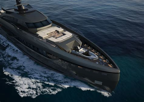 black yacht wallpaper columbus sport hybrid superyacht ready for its russian owner