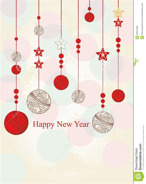 new year chain message new year greeting card royalty free stock photo image
