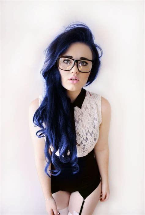navy hair color blue hair home ideas