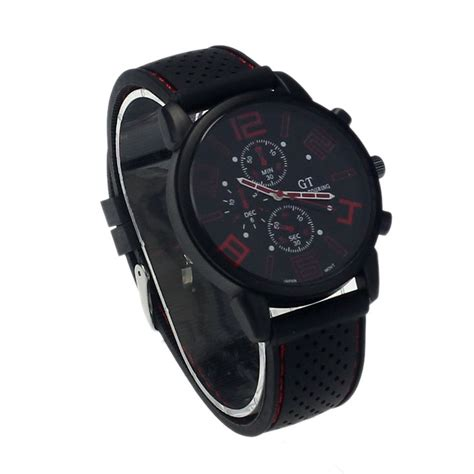 Jam Tangan New Listing Band Stainless Steel Sport Wrist Wat new mens stainless steel luxury sport analog quartz clock
