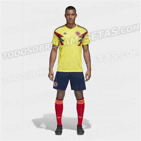 Colombia Mundial 2018 Nueva Camiseta De Selecci 243 N Colombia Rusia 2018