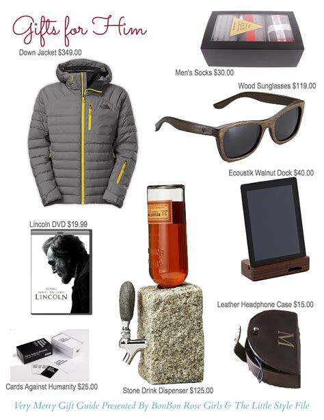 holiday gifts for him take time for style