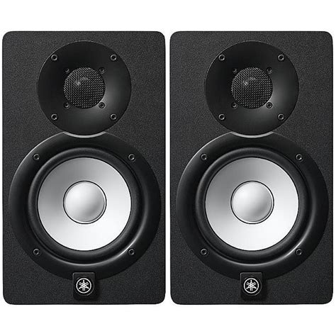 Yamaha Monitor Speaker yamaha yamaha hs5 powered studio monitor speakers black pair 230v only vinyl at juno records