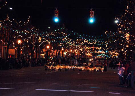 marshall mi christmas lights marshall michigan christmas parade photograph by michelle