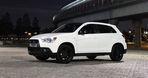mitsubishi crossover white mitsubishi asx and reviews top speed