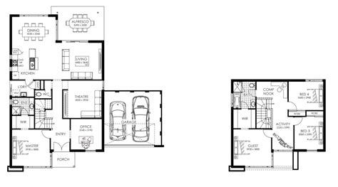 imagenes de planos de casas planos de casas de dos pisos modernas