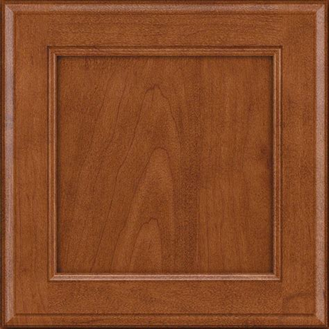 Maple Cabinet Door Kraftmaid 15x15 In Cabinet Door Sle In Maple Square In Burnished Rdcds Hd
