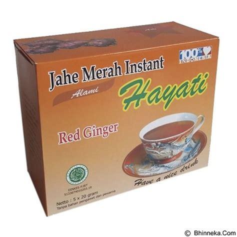 Minuman Jahe Instan jual pesona nusantara minuman instan jahe merah hayati