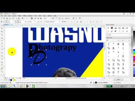 kreasi membuat cover buku membuat cover buku coreldraw x7 youtube