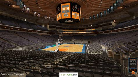 msg section 112 madison square garden seating chart detailed seat