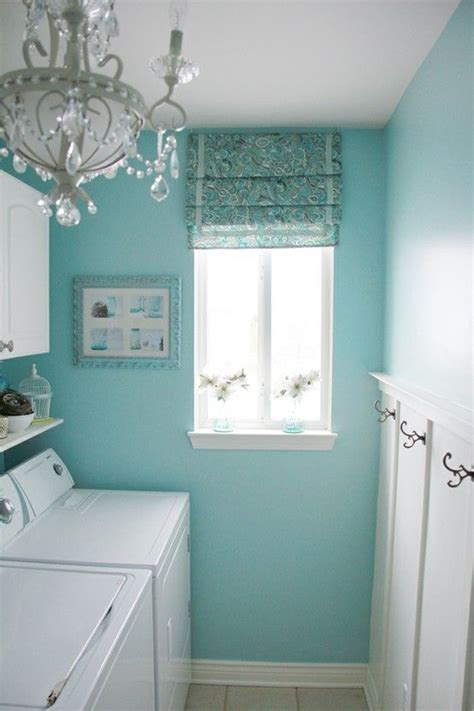 turquoise laundry room benjamin waterfall this color for the home